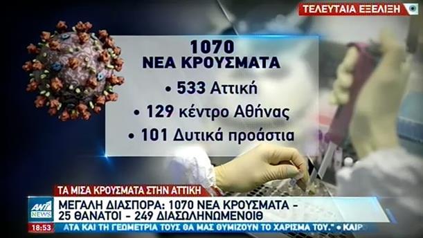 Τετραψήφιος αριθμός νέων κρουσμάτων την Πέμπτη