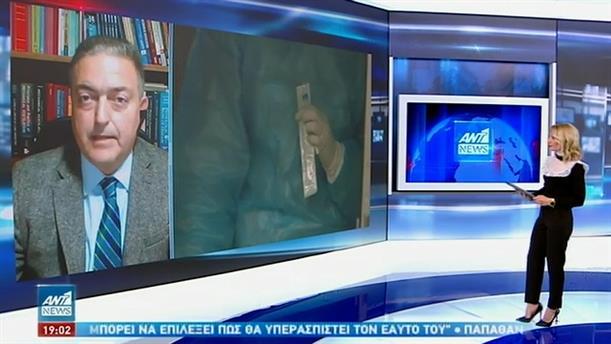 Βασιλακόπουλος στον ΑΝΤ1: Αυξήθηκαν οι εισαγωγές ασθενών στα νοσοκομεία