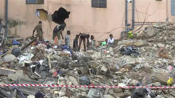 Κατάρρευση κτηρίου στη Νιγηρία