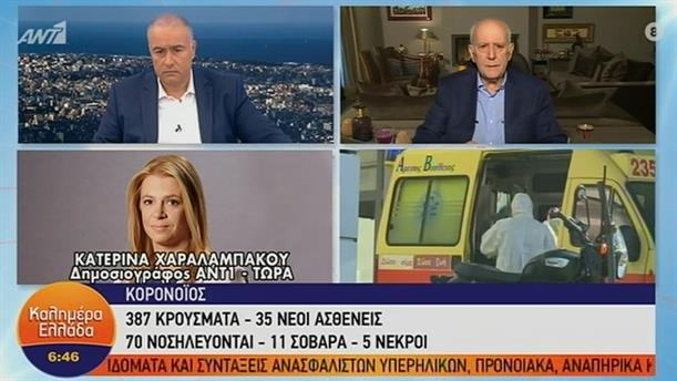 Κορονοϊός: 35 νέα κρούσματα στην Ελλάδα – ΚΑΛΗΜΕΡΑ ΕΛΛΑΔΑ – 18/03/2020