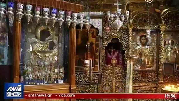 Έκλεψαν τάματα από την Παναγία Πορταΐτισσα στο Άγιο Όρος