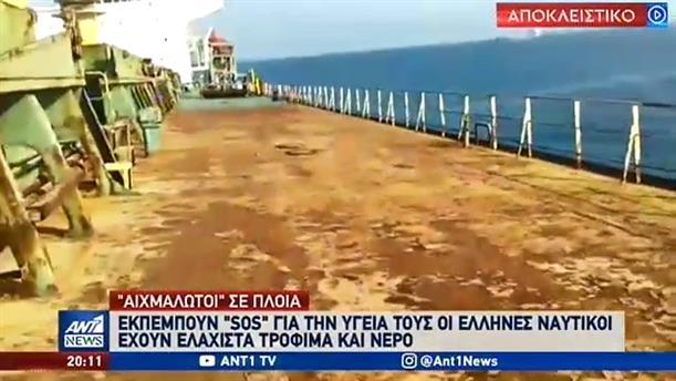 """Αποκλειστικό ΑΝΤ1: """"Κραυγή"""" αγωνίας από Έλληνες ναυτικούς στα ανοικτά του Τζιμπουτί"""