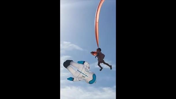 Αϊτός σήκωσε κοριτσάκι 30 μέτρα ψηλά στον αέρα