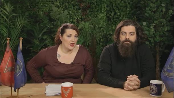 Talking Nomads Day 36: Τρεις εραστές στο κρεβάτι