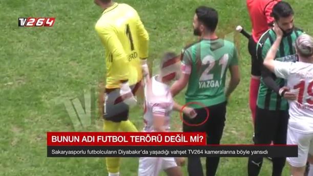 Τούρκος ποδοσφαιριστής χαράκωσε αντίπαλό του με ξυραφάκι