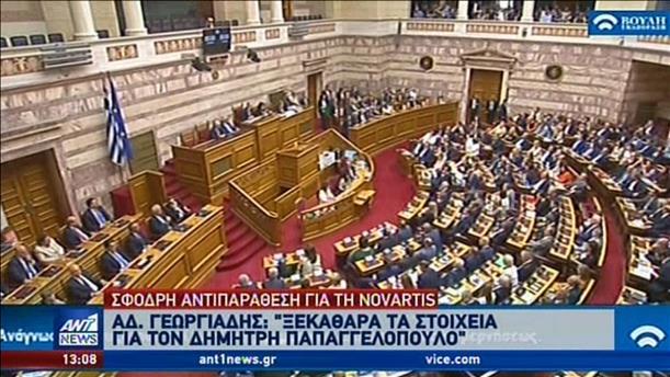 Μαίνεται η κόντρα κυβέρνησης - ΣΥΡΙΖΑ για την Novartis