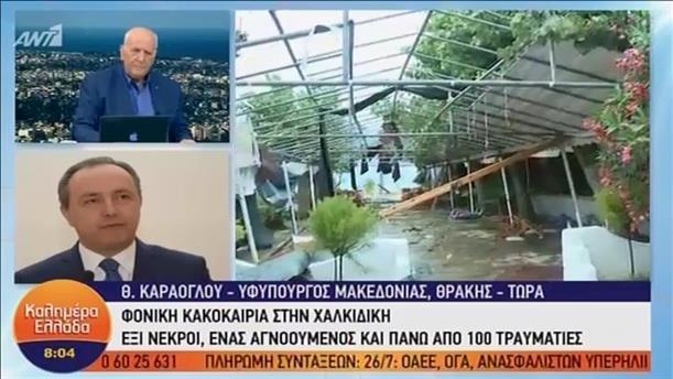 Θ. Καράογλου - ΚΑΛΗΜΕΡΑ ΕΛΛΑΔΑ - 11/07/2019