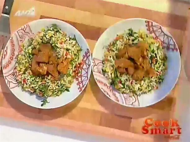 Χοιρινό με σάλτσα BBQ