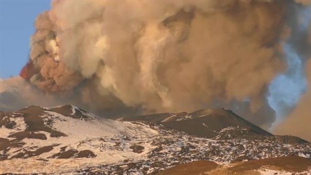 Nέα έκρηξη στην Αίτνα
