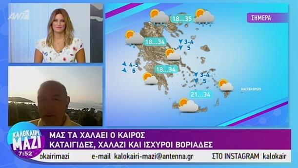 Καιρός - ΚΑΛΟΚΑΙΡΙ ΜΑΖΙ - 16/08/2019