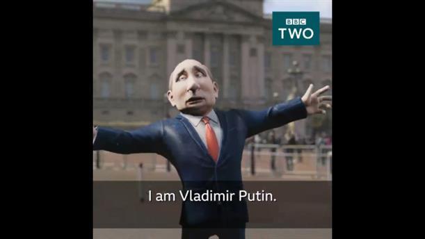 Ο Βλαντίμιρ Πούτιν παρουσιαστής σε εκπομπή