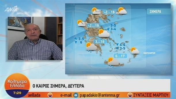 ΚΑΙΡΟΣ – ΚΑΛΗΜΕΡΑ ΕΛΛΑΔΑ - 04/03/2019