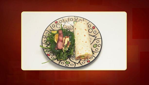 Τορτίγιες με κιμά, σως  μασκαρπόνε- γιαουρτιού και σαλάτα της Αναστασίας - Ορεκτικό - Επεισόδιο 45