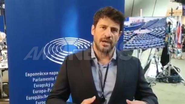Αποκλειστικό: το μήνυμα του Αλέξη Γεωργούλη μετά την ορκωμοσία ως Ευρωβουλευτής