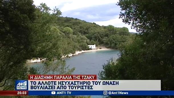 """Σκορπιός: """"Βουλιάζει"""" από τουρίστες η παραλία της Τζάκι"""
