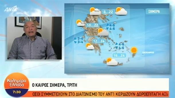 ΚΑΙΡΟΣ – ΚΑΛΗΜΕΡΑ ΕΛΛΑΔΑ - 06/11/2018