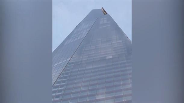 Σκαρφάλωσε στον υψηλότερο ουρανοξύστη της Βρετανίας