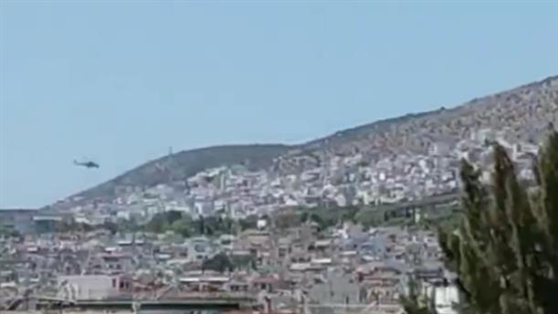 Βίντεο από τη φωτιά στο Χαϊδάρι