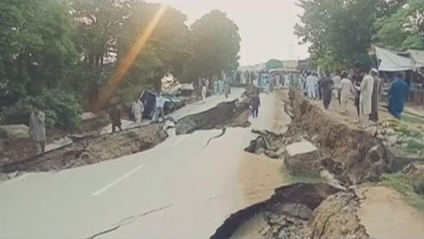 Νεκροί και μεγάλες καταστροφές από τον σεισμό στο Πακιστάν