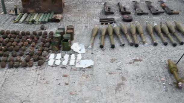 Ανεύρεση θαμμένου πολεμικού υλικού σε περιοχή της Καστοριάς