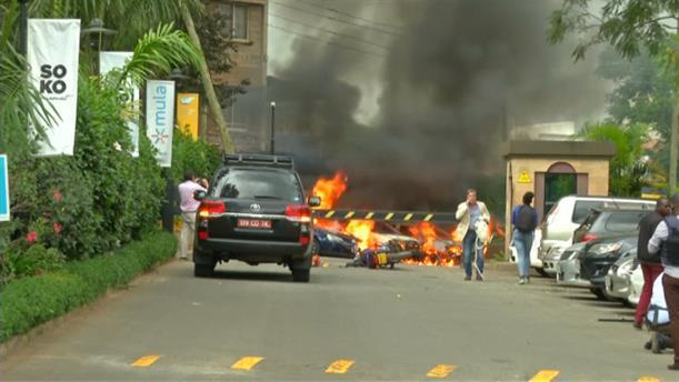 Επίθεση σε ξενοδοχείο στην Κένυα