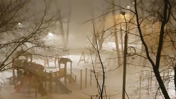 Ρωσία: Χιονόπτωση-ρεκόρ στη Μόσχα