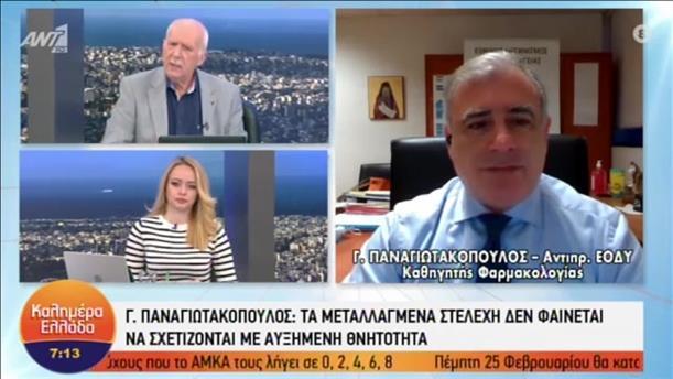 """Παναγιωτακόπουλος - Θωμαϊδης στην εκπομπή """"Καλημέρα Ελλάδα"""""""