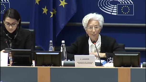 Κριστίν Λαγκάρντ: Τα ελληνικά ομόλογα θα γίνουν επιλέξιμα αν συνεχιστεί η βελτίωση της ελληνικής οικονομίας