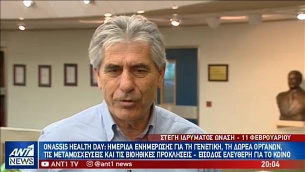 Ο Άγγελος Αναστασιάδης στον ΑΝΤ1 για την εκστρατεία ενημέρωσης για τη δωρεά οργάνων