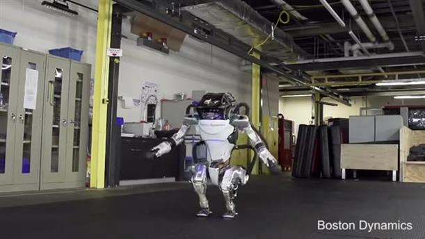 Το εντυπωσιακό ρομπότ που κάνει κινήσεις παρκούρ και ασκήσεις γυμναστικής
