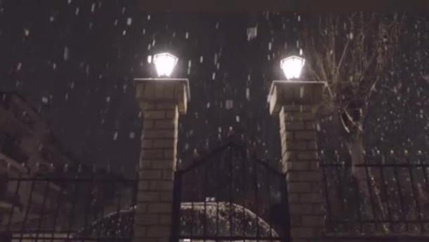 Χιονόπτωση στο Κιλκίς