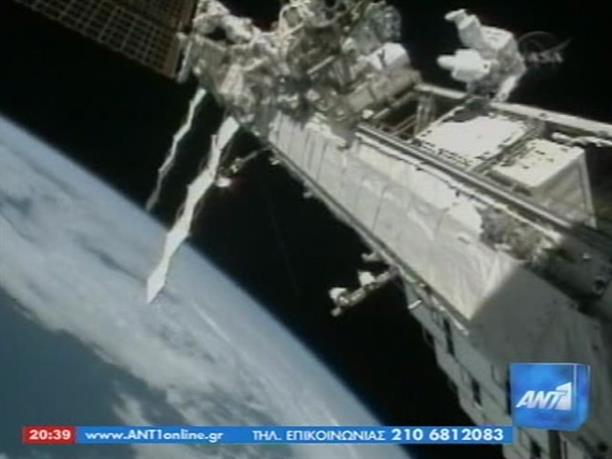 Επιτυχής διαστημικός περίπατος