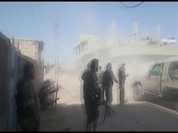 Υπό τον έλεγχο των συριακών ανταρτικών δυνάμεων το κέντρο της πόλης Ρας αλ Αϊν