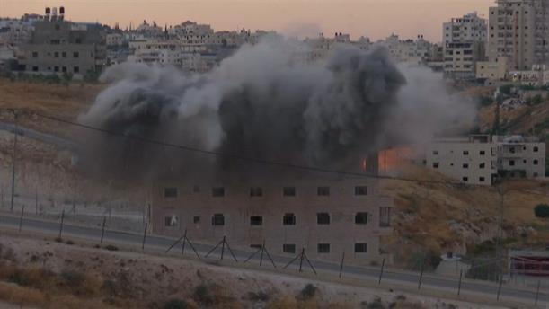 Το Ισραήλ κατεδαφίζει σπίτια Παλαιστινίων
