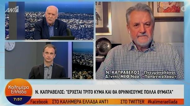 Νικόλαος Καπραβέλος - Πνευμονολόγος – ΚΑΛΗΜΕΡΑ ΕΛΛΑΔΑ - 08/01/2021