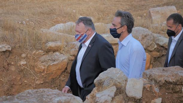 Η επίσκεψη του Μάικ Πομπέο στην Κρήτη
