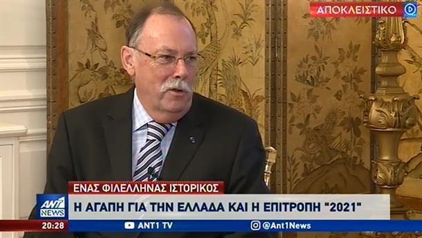 Ο Ρόντρικ Μπίτον μιλά στον ΑΝΤ1 για την αγάπη του για την Ελλάδα