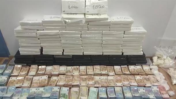 Εντοπισμός και κατάσχεση κοκαΐνης