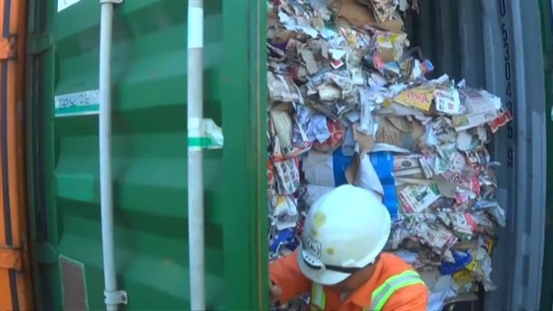 Οι αρχές της Ινδονησίας σκοπεύουν να στείλουν πίσω στην Αυστραλία 210 τόνους εισαγόμενων σκουπιδιών