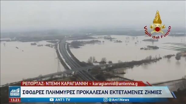 Πλημμύρες και καταστροφές στην Ιταλία