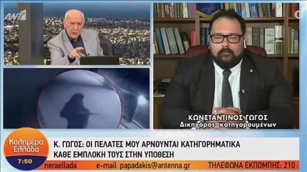 Ο Κωνσταντίνος Γώγος στο «Καλημέρα Ελλάδα»
