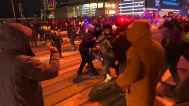 Συλλήψεις υποστηρικτών του Ναβάλνι