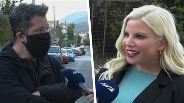 Αντελίνα και Χάρης Βαρθακούρης στην εκπομπή «Το Πρωινό»