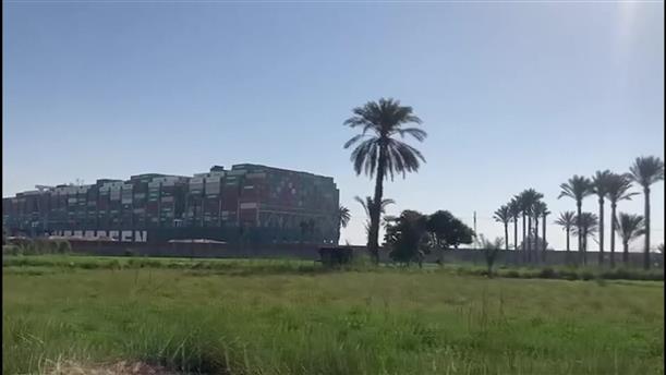Διώρυγα του Σουέζ: επιχείρηση για την αποκόλληση του πλοίου