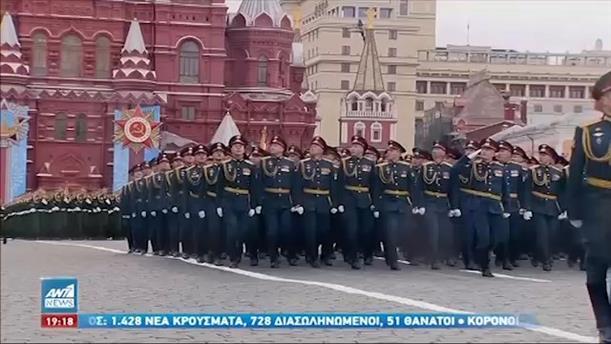 Μόσχα: Μεγαλειώδης παρέλαση για την 76η επέτειο νίκης κατά του ναζισμού