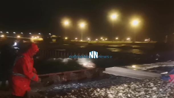 Τραγωδία από την κακοκαιρία στο λιμάνι του Αντιρρίου