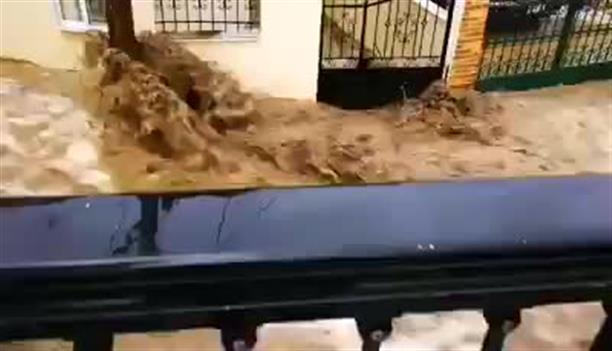 Πλημμύρες και καταστροφές στην Ροδόπη