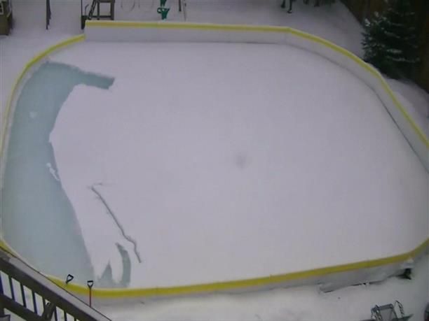 Zωγράφισε τη Μόνα Λίζα στο χιόνι