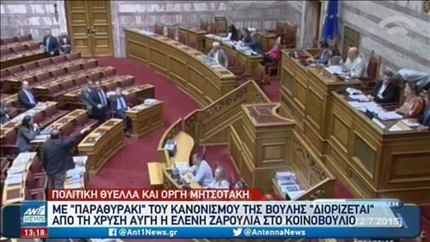 """Στον """"πάγο"""" ο διορισμός της Ελένης Ζαρούλια στη Βουλή"""