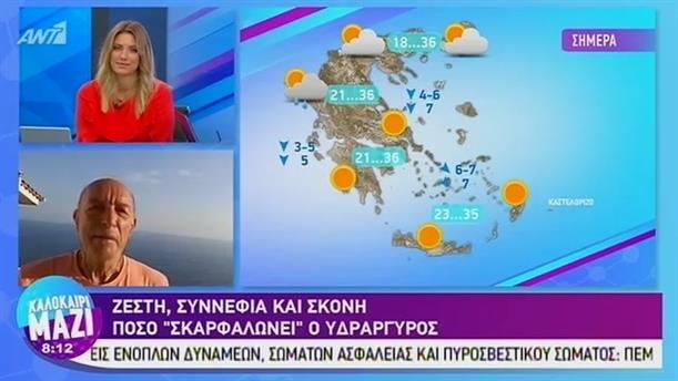 Καιρός - ΚΑΛΟΚΑΙΡΙ ΜΑΖΙ - 26/08/2019